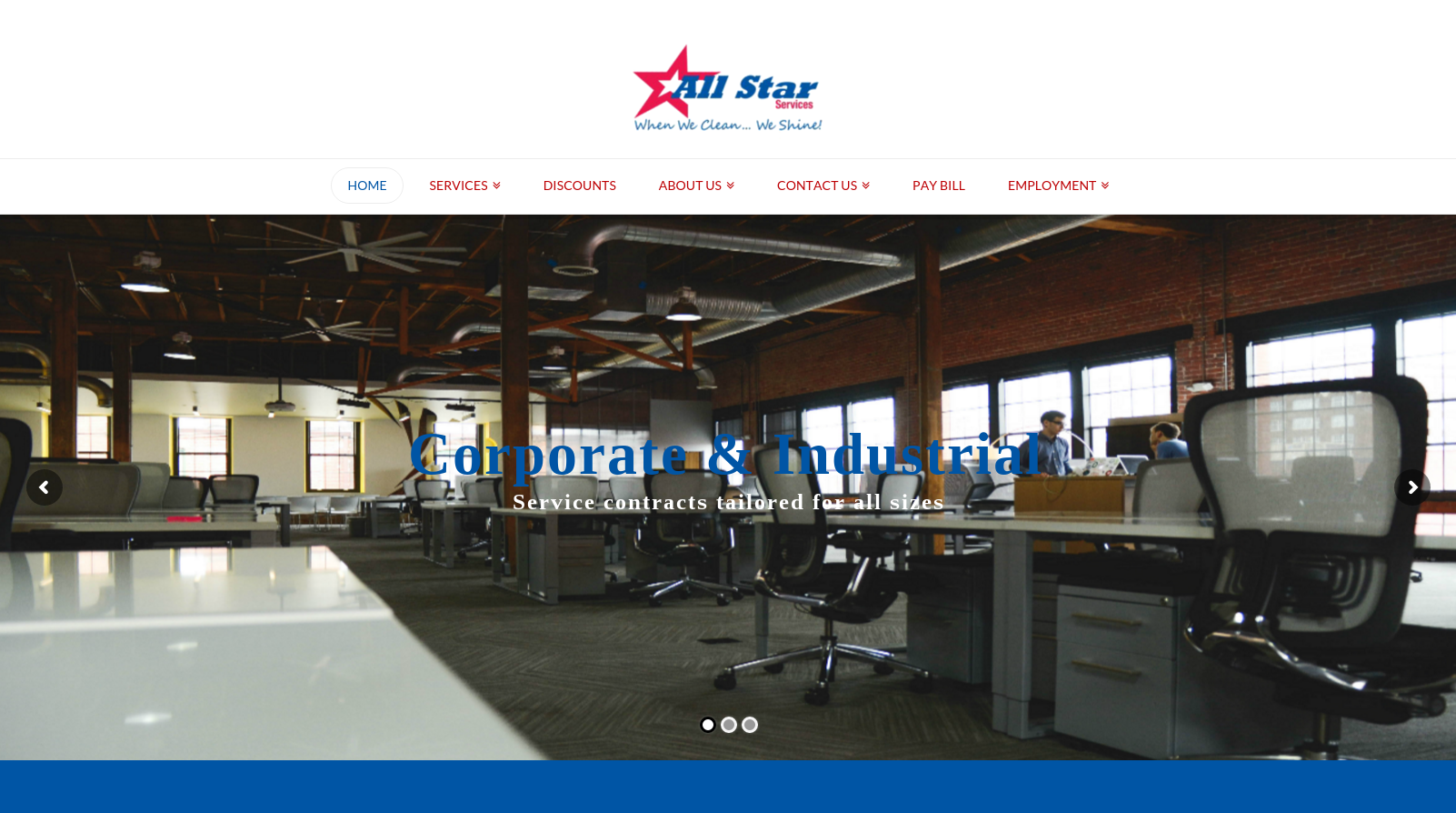 all star janitorial website